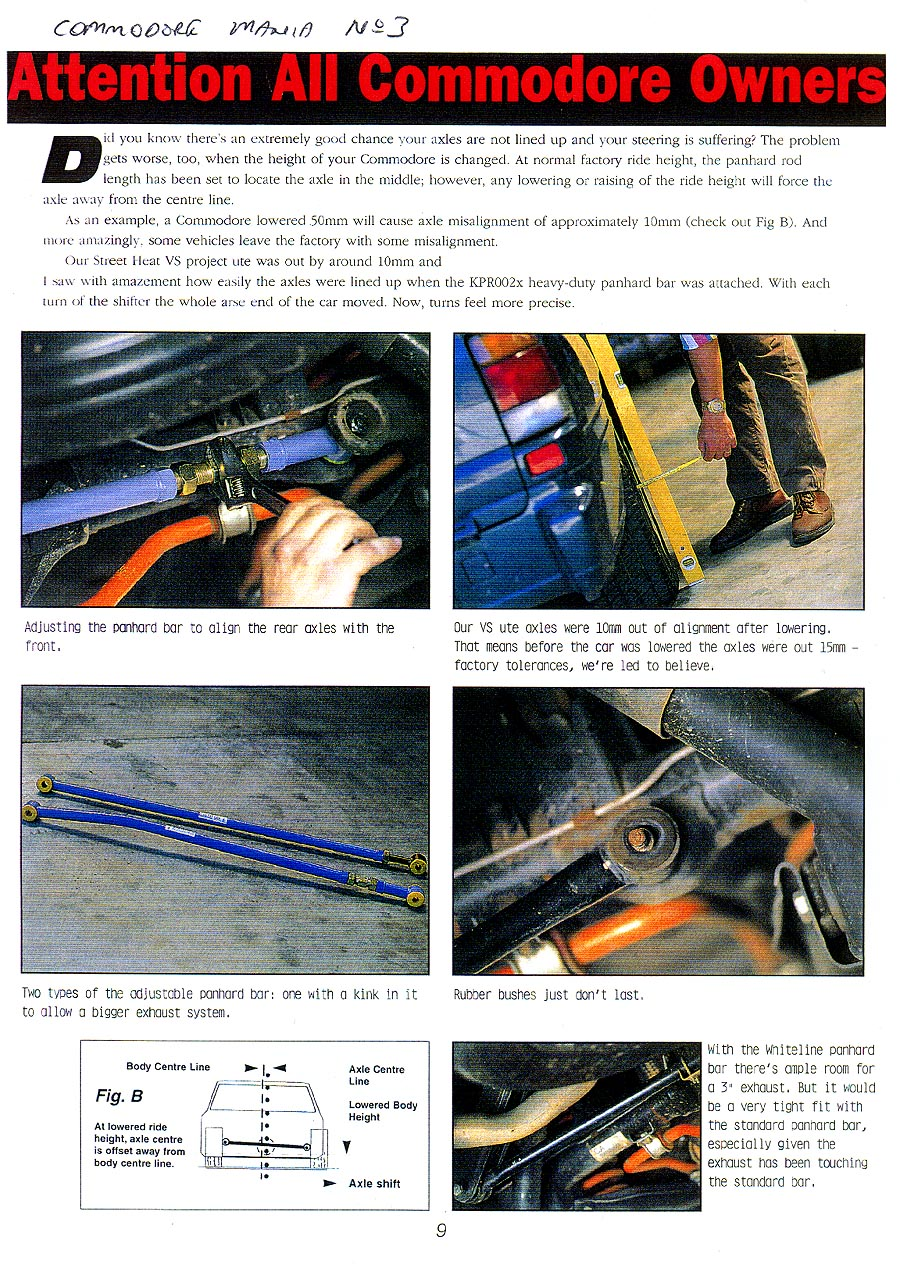 article: Panhard Rods