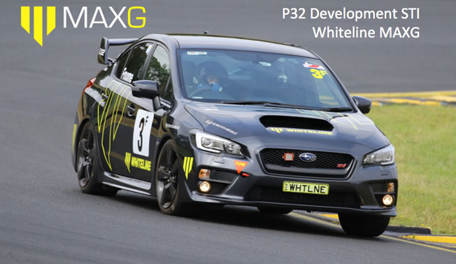 P32 Development STI Whiteline MAXG