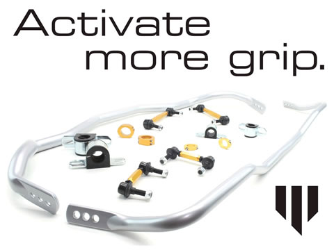Whiteline Activate More Grip