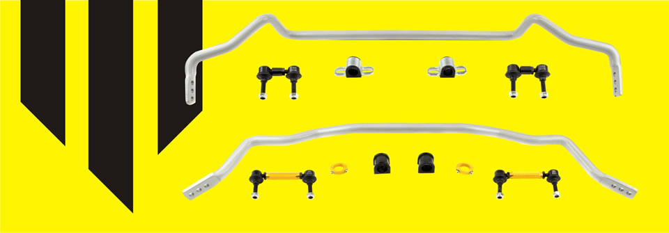 Whiteline adjustable anti sway bars and anti roll bars